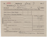 Receipt for $7.03 paid by Joseph E. Hall for taxes in Elmore County, Alabama.
