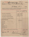Receipt for $65 paid by Caroline Handy for taxes in Montgomery County, Alabama.