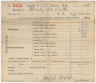 Receipt for $6.48 paid by Caroline Handy for taxes in Elmore County, Alabama.
