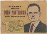 """Alabama Needs John Patterson for Governor."""