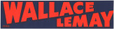 """Wallace / LeMay"" bumper sticker from the 1968 presidential campaign."