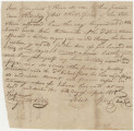 Bill of sale for a slave bought by John Butterworth of Petersburg, Virginia, from Robert Spiers.