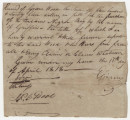 Bill of sale for a slave bought by Green Wood from E. Graves.