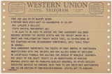 Telegram from U.S. Secretary of State Dean Rusk in Washington, D.C., to Governor Lurleen Wallace...
