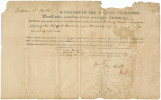 Certificate issued by Governor William Wyatt Bibb, appointing Bolling Hall clerk of the superior...