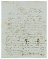Letter from L. H. Portis in Selma, Alabama, to Isham W. Garrott in Marion, Alabama.