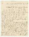 Letter from men wishing to raise a volunteer company in Randolph, Alabama, to William M. Brooks...