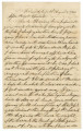 Letter from Grafton Gardner in Friendship, Alabama, to William M. Brooks and Isham W. Garrott.