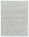 Letter from Edmund W. Pettus in Greensboro, Alabama, to Isham W. Garrott.