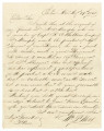 Letter from William P. Webb in Eutaw, Alabama, to Isham W. Garrott and Edmund W. Pettus.