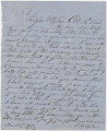 Letter from Thomas S. Taylor in Fairfax Station, Virginia, to his wife.