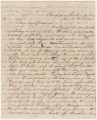 Letter from Hubert Dent in camp near Shelbyville, Tennessee, to his wife, Anna...