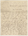 Letter from George H. Dent in Charlotte Hall, Maryland, to his brother, Hubert, probably in...