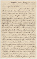 Letter from Stouten Warren Dent at Oakton Grove in Maryland, to his son, Hubert, probably in...