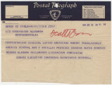 Telegram from Confederación Sindical Latinoamericana in Montevideo, Uruguay, to Governor B.M....