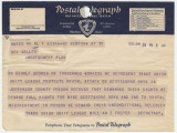Telegram from the Trade Union Unity League in New York, New York, to Governor Miller in...