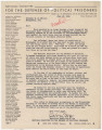 Letter from the National Committee for the Defense of Political Prisoners in New York, New York,...