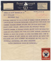 Telegram from National Committee to Aid Victims of German Fascism in New York, New York, to...