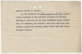 Resolution from employees of Pennsylvania Dye Works in Philadelphia, Pennsylvania, to Governor...