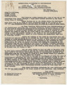 Letter from International Association of Projectionists and Sound Engineers of North America in...