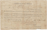 Oath of allegiance to the United States, submitted by R. E. Cook of Talladega County, Alabama, at...