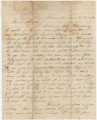 Letter from Joseph McGowin in Knoxville, Tennessee, to his family.