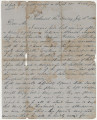 Letter from Hugh William Caffey in Richmond, Virginia, to his mother.