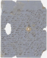 Letter from Hugh William Caffey at Winder Hospital in Richmond, Virginia, to his mother.