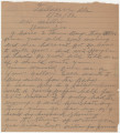 Letter from Mrs. H. B. Autrey, in Tallassee, Alabama, to Governor Benjamin Miller, and the...