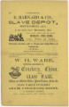 Advertisements on page 124 of The Montgomery Directory for 1859-60, including E. Barnard & Co....