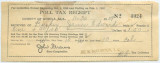 Poll tax receipt issued to James E. Buskey in Mobile County, Alabama.