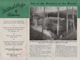 Brochure for the Natural Bridge of Alabama in Winston County.