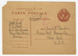 Postcard from Penrose Vass Stout, stationed in France, to his cousin, Kate Waller Chambers, in...