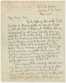 Letter from Penrose Vass Stout, stationed in France, to his cousin, Frank Ross Chambers, in...