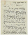 Letter from Penrose Vass Stout in Orly, France, to his sister, Rebecca Stout Hoover, in...
