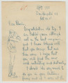 Letter from Penrose Vass Stout, stationed in France, to Charlie, an aviator also in France.