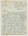 Letter from Penrose Vass Stout, stationed in France, to his mother, Zemmie Stout Lawton in...