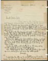 Letter from Penrose Vass Stout in Paris, France, to his cousin, Kate Waller Chambers, in...