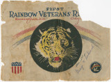 Official program of the first Rainbow Veterans reunion in Birmingham, Alabama.