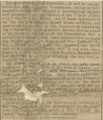 Brief news items about the death of President Lincoln from the Mobile Daily News.