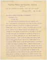 Letter from Booker T. Washington, principal of Tuskegee Normal and Industrial Institute, to John...