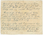 Bill of sale for slaves bought by A. B. from Richard Roe.