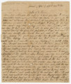 Letter from James and Caroline Pearson in Louina, Alabama, to their son, Hiram, in camp near...