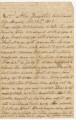 Letter from Francis McDade Danielly at the 2nd Alabama Hospital in Richmond, Virginia, to his...