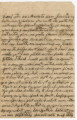 Letter from James Monroe Pearson in Marietta, Georgia, to his wife, Sarah, in Randolph County,...