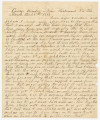 Letter from Francis McDade Danielly at Camp Winder near Richmond, Virginia, to his wife,...