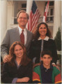 Christmas card from Governor Don Siegelman and family.