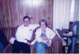 'Raymond R. Eddins and mother, 1980s'